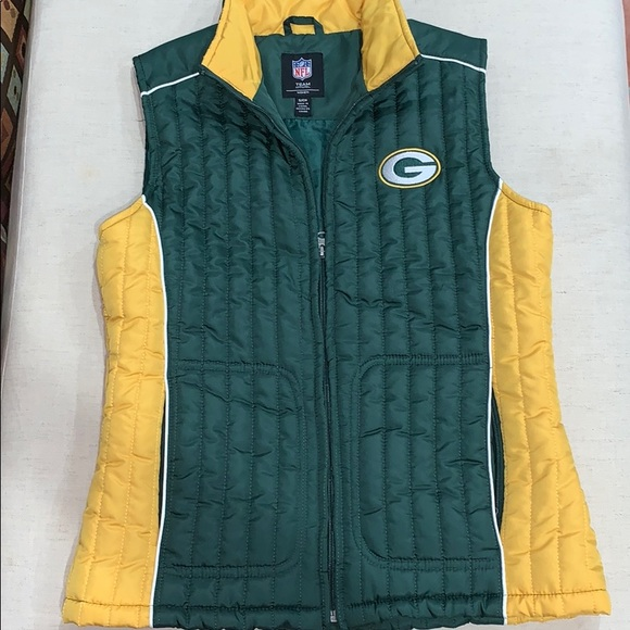 online store 10a98 250fe Green Bay Packers NFL Puffer Jacket